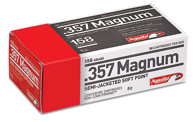 AGUILA 357MAG 158GR SJSP 50/1000 - for sale