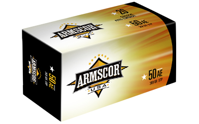 ARMSCOR 50AE 300GR JHP 20/400 - for sale