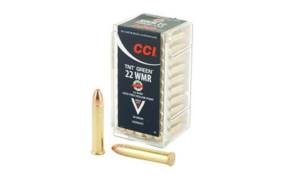 CCI 22WMR 30GR HP TNT GREEN 50/2000 - for sale