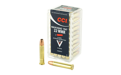 CCI 22WMR TNT MAXI-MAG 50/2000 - for sale