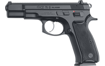 "CZ 75B 9MM 4.6"" BLK 10RD - for sale"