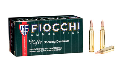 FIOCCHI 223REM 55GR FMJBT 50/1000 - for sale