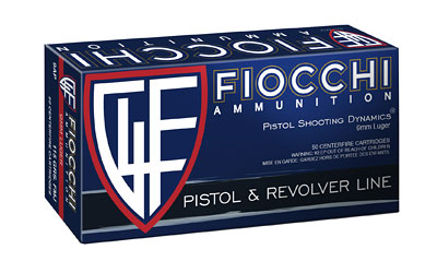 FIOCCHI 9MM 115GR FMJ 50/1000 - for sale