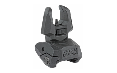 FAB DEF FRONT POLY FLIP-UP SIGHT BLK - for sale