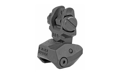 FAB DEF REAR POLY FLIP-UP SIGHT BLK - for sale