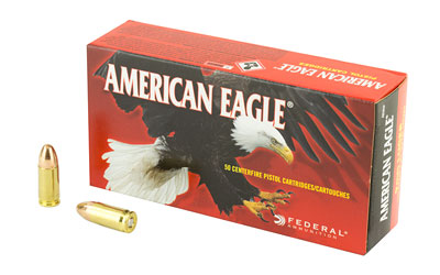 FED AM EAGLE 9MM 115GR FMJ 50/1000 - for sale