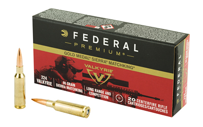 Federal - Gold Medal - .224 Valkyrie for sale