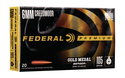 Federal - Gold Medal - 6mm Creedmoor for sale