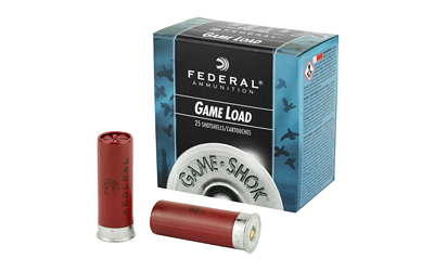 "FED GAME LOAD 12GA 2 3/4"" #6 25/250 - for sale"
