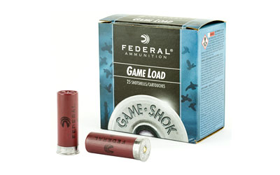 "FED GAME LOAD 12GA 2 3/4"" #8 25/250 - for sale"