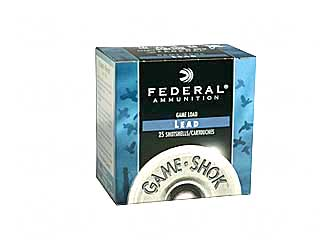 "FED GAME LOAD 20GA 2 3/4"" #7.5 25/ - for sale"