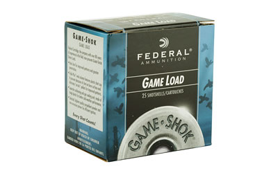 "FED GAME LOAD 20GA 2 3/4"" #8 25/250 - for sale"