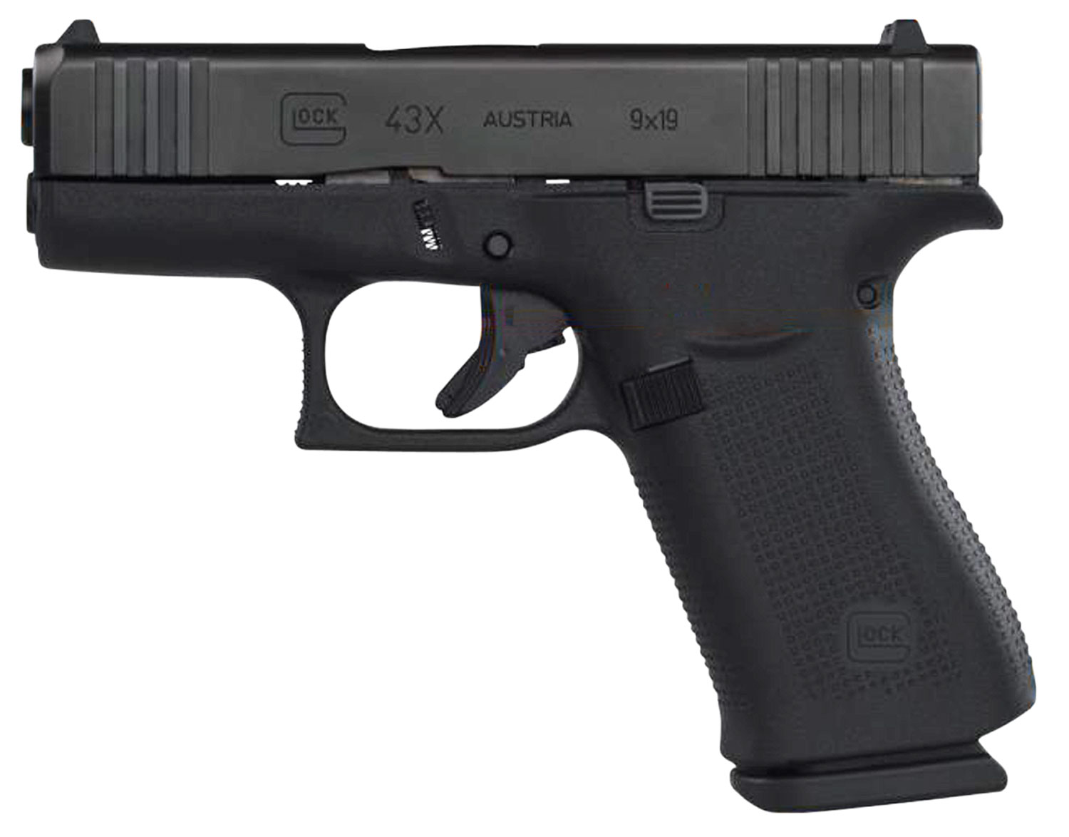 GLOCK 43X 9MM 10RD BLK - for sale