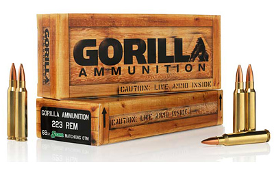 GORILLA 223REM 69GR SIERRA 20/200 - for sale