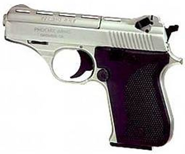 "PHOENIX 22LR PISTOL 3"" NICKLE - for sale"