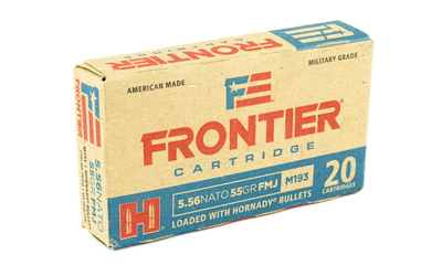 FRONTIER 556NATO 55GR FM193 20/500 - for sale