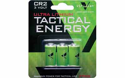 VIRIDIAN CR2 LITH BATTERY 3-PK - for sale