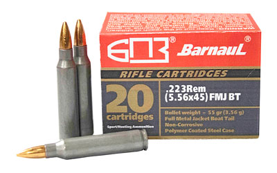 MKS BARNAUL 223REM 55GR FMJBT 20/500 - for sale