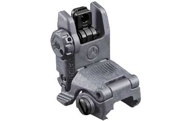 MAGPUL MBUS REAR FLIP SGHT GEN 2 GRY - for sale