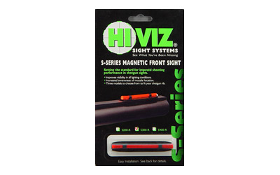 HIVIZ NARROW MAGNETIC SHTGN W/RED - for sale