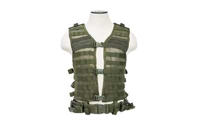 NCSTAR VISM MOLLE VEST MED-2XL GRN - for sale