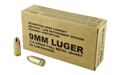 REM 9MM 115GR 50/500 - for sale