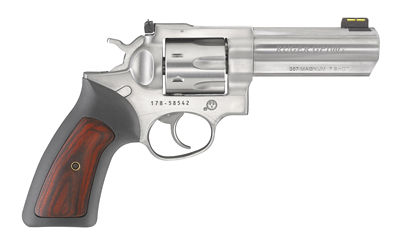 "RUGER GP100 357MAG 4.2"" STN 7RD AS - for sale"