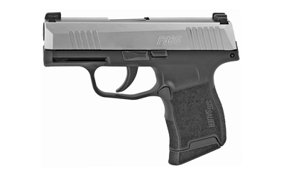 "SIG P365 9MM 3.1"" 10RD BLK/STS - for sale"