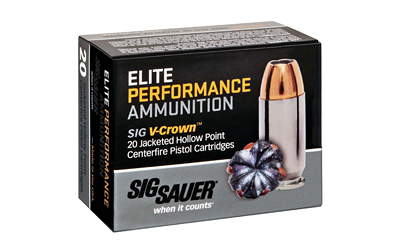 SIG AMMO 10MM 180GR JHP 20/200 - for sale