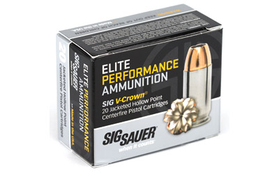 SIG AMMO 9MM 115GR JHP 20/200 - for sale