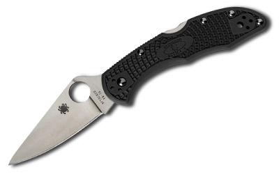 SPYDERCO DELICA4 BLK FFG PLAINEDGE - for sale