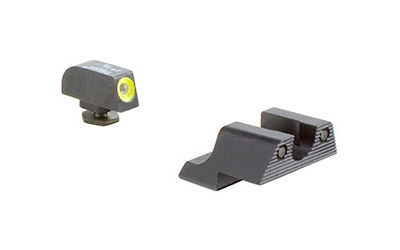 TRIJICON HD NS FOR GLK42 YLW FRONT - for sale