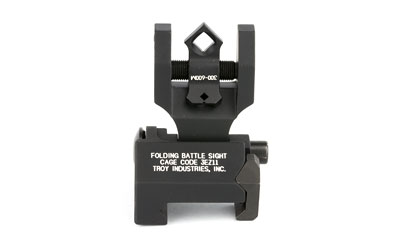 TROY FLDNG REAR DI-OPTIC SGHT BLK - for sale