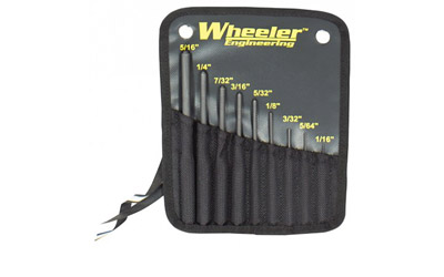 WHEELER ROLL PIN PUNCH SET - for sale