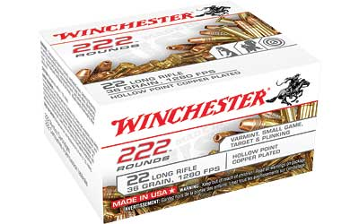 WIN 22LR 36GR CPR HP 222/2220 - for sale