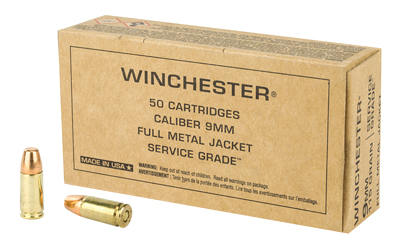 WIN SERVICE GRADE 9MM 115GR 50/500 - for sale