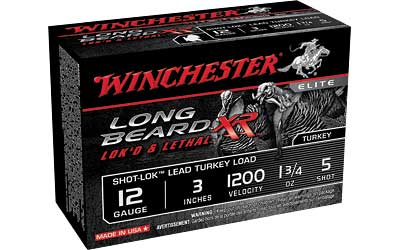 "WIN LB XR TRKY 12GA 3"" #5 1.75OZ 10/ - for sale"