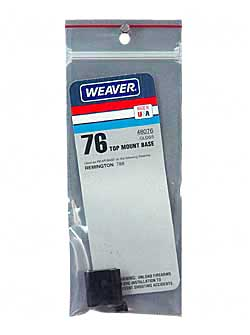 WEAVER #76 REM 788 REAR BASE - for sale